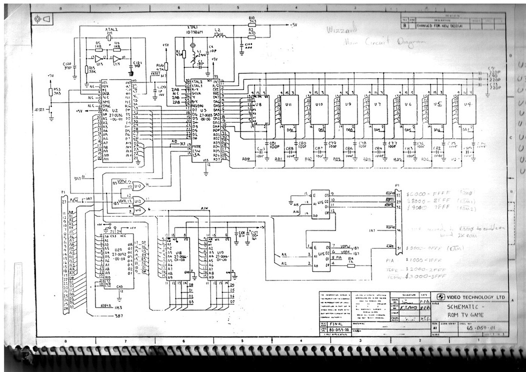 recreating the funvision wizzard circuit diagram main